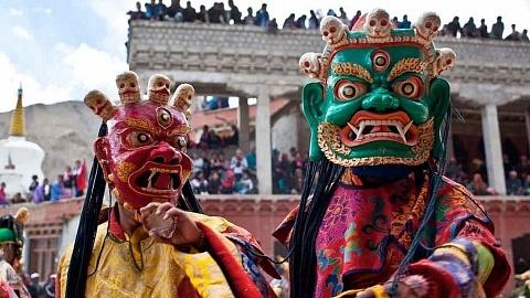 Losar Neujahr in Tibet
