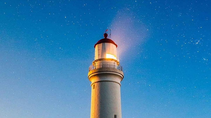 Achtsamkeit Leuchtturm