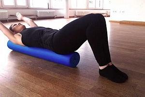 Pilates Rolle Arm Circles 2